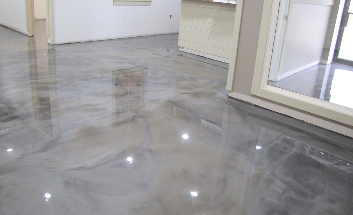 Metallic Epoxy Floors St Paul